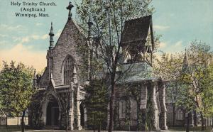 WINNIPEG , Manitoba , Canada , 1900-10s ; Holy Trinity Church (Anglican)