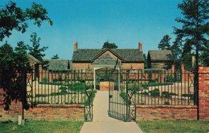 Garden at Ante Bellum Plantation, Stone Mountain, Georgia Iron Gate Postcard