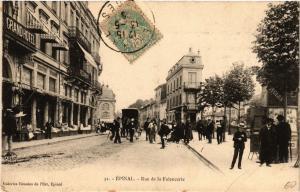 CPA 31 ÉPINAL Rue de la Faiencerie (405542)