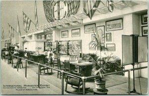 1915 PPIE San Francisco Expo Postcard INTERNATIONAL HARVESTER EXHIBIT Unused