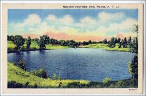 Memorila Resreation Park, Malone NY