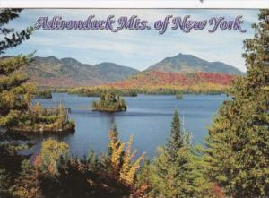 New York The Adirondack Park Lake Scene