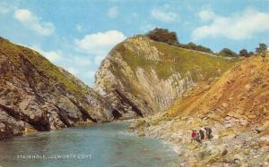 Vintage Postcard Stair Hole, Lulworth Cove, Dorset by J. Salmon Ltd H49