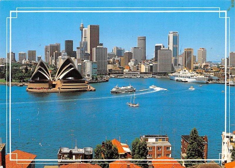 Aerial View Sydney Australia 1987