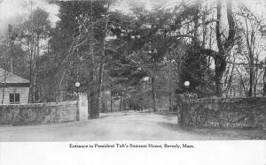 massachusetts  Beverly  Entrance to President Taft's Summer Home