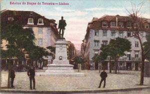 Portugal Lisboa Estatua do Duque da Terciera