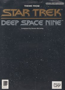 Star Trek TV Theme Old Sheet Music