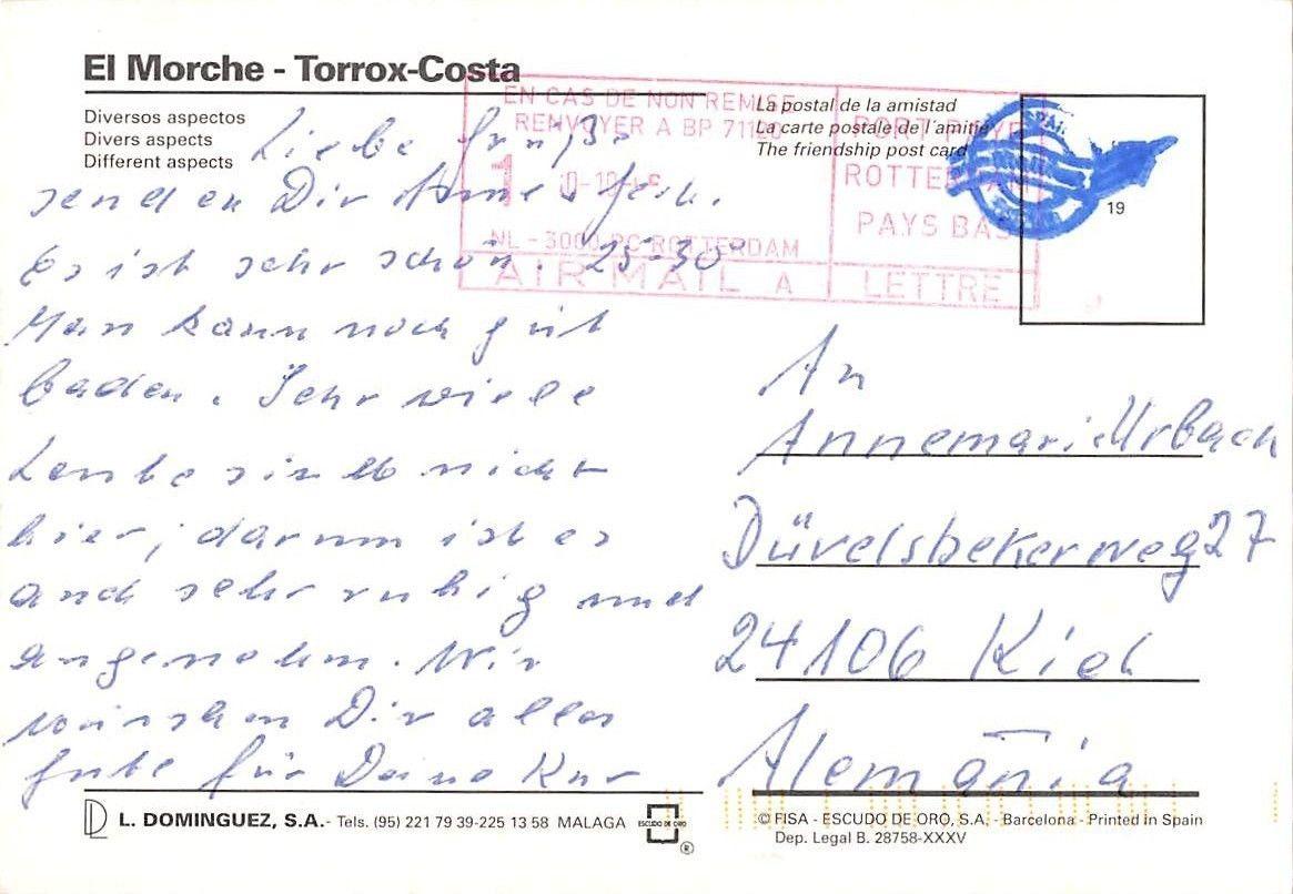 Torrox Espagne Carte.Spain El Morche Torrox Costa Different Aspects Auto Car