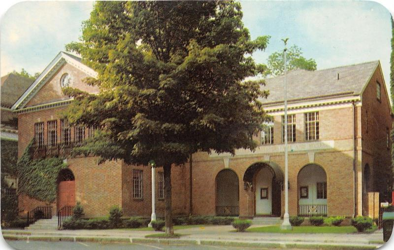 Cooperstown New York~National Baseball Hall of Fame & Museum~1967 Postcard