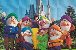 Snow White and the Seven Dwarfs, DISNEYWORLD, 50-70's