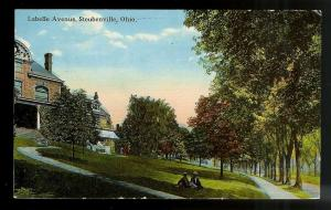Labelle Avenue Steubenville Ohio used c1914