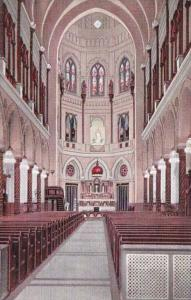 Louisiana New Orleans Church Of The Immaculate Conception Chapel Interior