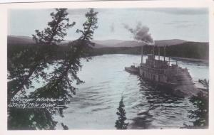 RP; CANADA, 1920-1940s ; Steamer Whitehorse In Thirty Mile River