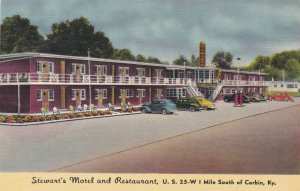 Kentucky Corbin Stewart's Motel and Restaurant sk2206