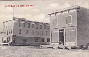Drug Hall & Hotel , NOKOMIS , Saskatchewan , Canada , 00-10s