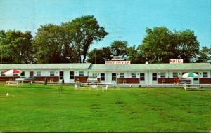 North Carolina Winchester Mountain View Motel 1966