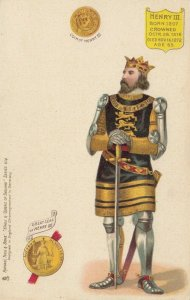TUCK Kings & Queens of England , Series 614, 1901-07 ; HENRY III