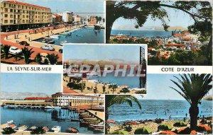 Postcard Modern Azur Riviera-LA SEYNE SUR MER