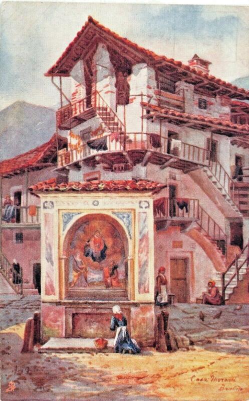 LAGO MAGGIORE ITALY~BAVENO CASA MORANDI-TUCK NORTHERN ITALY SERIES POSTCARD