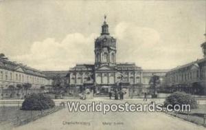 Charlottenburg Germany, Deutschland Postcard Konigl Schlob Charlottenburg Kon...