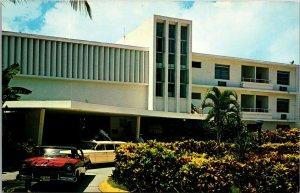 Postcard Virgin Isle Hilton Hotel St Thomas Virgin Islands UNPOSTED VINTAGE
