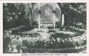 Easter Altar Scene-Jewel Box, Forest Park, St Louis, Missouri, 40-60s
