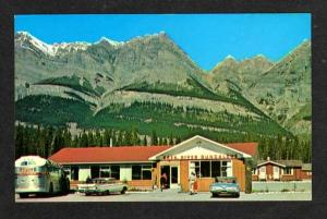 AB Saskatchewan River Bungalows ALBERTA CANADA Postcard