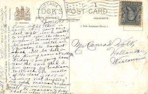 Declaration Of Independence Patriotic Greeting Tuck Antique Postcard K38128