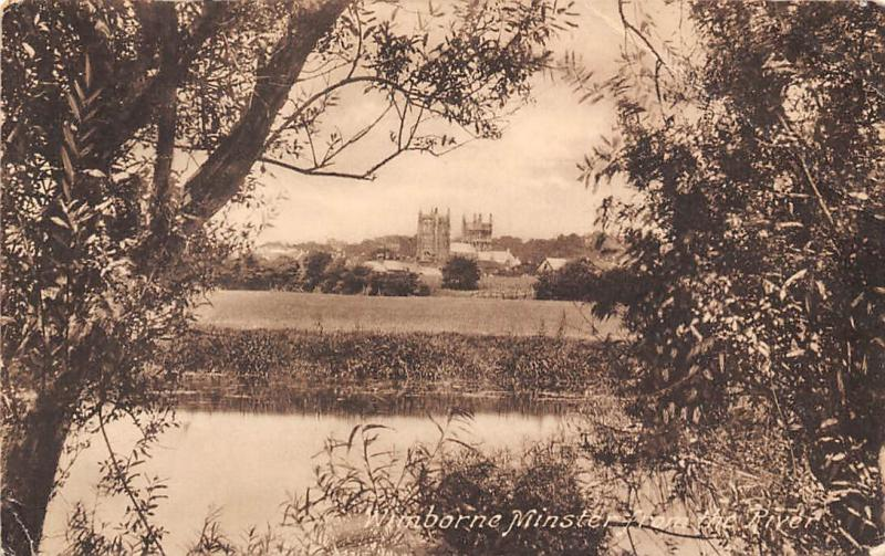 Wimborne Minster from the River Frith's Series 1924