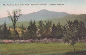 Vermont Windsor Mt Ascutney From State Road Elevation 3160 Feet Albertype