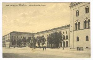 Kgl. Universitat Munchen. Altbau Ludwigsstrasse, Germany, 00-10s