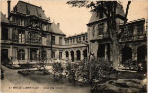 CPA Paris 3e Paris-Musée Carnavalet-Cour des Draplers (313935)