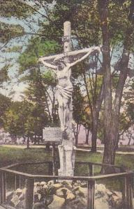 New York Auriesville Image Of Christ Crucified Crucified Albertype