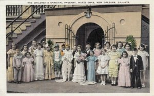 NEW ORLEANS, Louisiana, 10-30s ; Children's Carnival Pageant