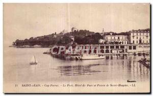 Postcard Old Saint Jean Cap Ferrat Hotel Port of Pointe Saint Hospice