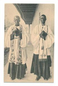 Missions des Peres Blancs, Deux pretres indigenes, 00-10s