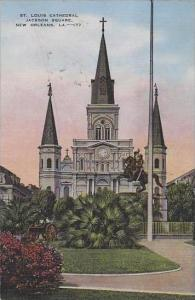 Louisana New Orleans St Louis Cathedral Jason Square