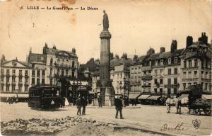 CPA LILLE - La Grand'Place - La Déesse (204503)