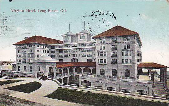 View of Virginia Hotel, Long Beach, California, PU-1909