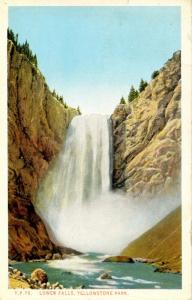 WY - Yellowstone National Park. Lower Falls