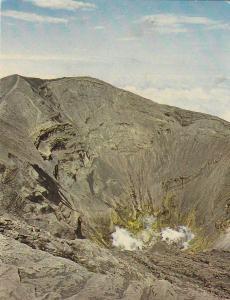 Postal 61962 : Crater del Volcan Irazu en la Provincia de Cartago Costa Rica ...