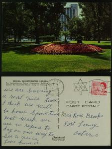 Victoria Park, Regina Sask Power Corp bldg  1967