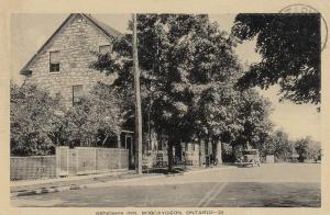 BOBCAYGEON , Ontario , 1930s ; Kenosha Inn