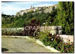 Modern Postcard Saint Paul de Vence Vue Generale