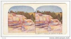 SV: Cleopatra´s Terrace Yellowstone, 1902