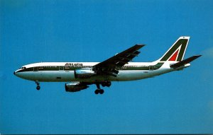 ALITALIA Airbus A300B4-203 At London Heathrow Airport In Memory Of Maurizio Q...