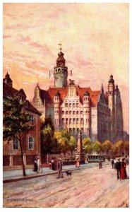 Germany  Leipzig Rathaus