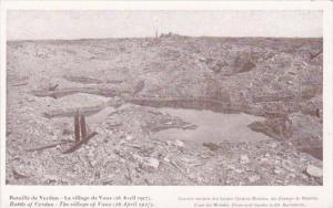 France Bataille de Verdun Le Village de Vaux 26 Avril 1917