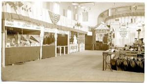 Belfast ME Food Fair 1914 Moxie & Victor Music Booths RPPC Real Photo Postcard