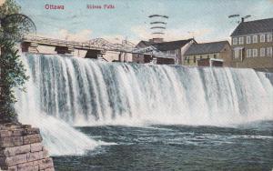 Rideau Falls, Ottawa, Ontario, Canada, PU-1910